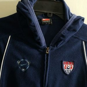 Womens soccer national team vintage jacket sz lrg